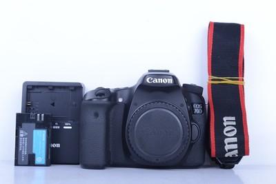 94新二手 Canon佳能 70D 单机 中端单反相机(B1721)【京】