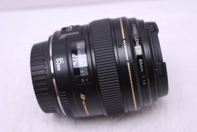 佳能 EF 85/1.8 85 mm F1.8 佳能85/1.8 佳能 85/1.8 99新