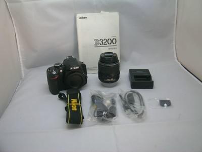 出售 98新 尼康 D3200带18-55/3.5-5.6II 请看图片