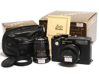 美能达 Leitz CL相机 连M-Rokkor 40mm F/2和 90mm F/4镜头*美品*