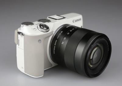 佳能 EOS M3 (套机含18-55mm镜头)