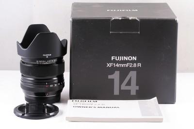富士 XF 14mm F2.8 R 镜头 X-E2 PRO1 M1 等适用 (带包装)