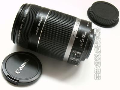 成色很好 原装 佳能EF-S 55-250 F4-5.6 IS 小长焦 支持置换4429