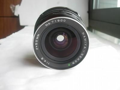 很新玛米亚RB67经典相机配套50mmF4.5超广角镜头,收藏使用