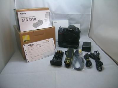 出售 93新 尼康 D300S机身带原装手抦 包装齐全 请看图片