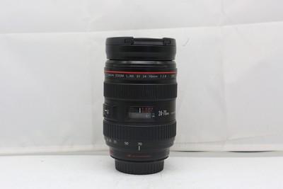 94新二手Canon千亿国际娱乐官网首页 24-70/2.8 L USM一代红圈镜头(2306)【深】