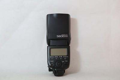 93新二手Canon佳能 580EX II 闪光灯 适用于5D25D3 (T10120)津