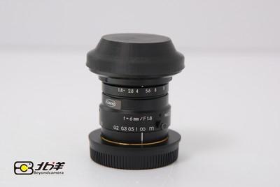 99新 KOWA 6mm/f1.8 (带M 4/3转接环)