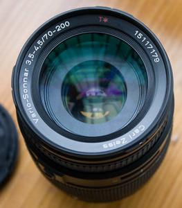 尼康口康泰时蔡司Contax  zeiss  AF 70-200 3.5-4.5手动镜头