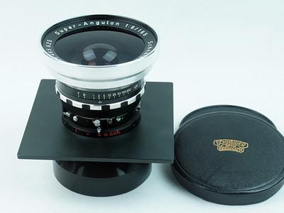 施耐德Schneider  SUPER-ANGULON 165mm f8  810广角镜头