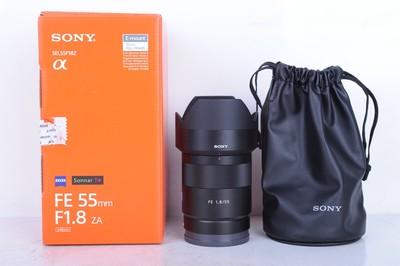 98新二手 Sony索尼 55/1.8 ZA Sonnar FE E卡口(B0820)【京】