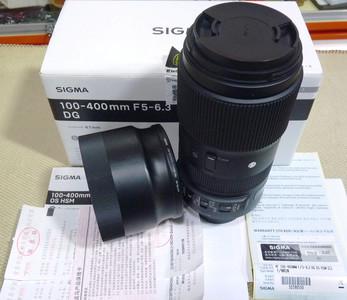 适马100-400mm/5-6.3 DG OS HSM行货带发票 全套包装 (尼康口)
