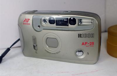 理光全自动胶片照相机(RICOH AF--28mm定焦