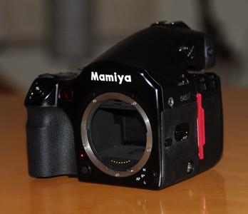 玛米亚 mamiya 645AF+胶片后背 hm401