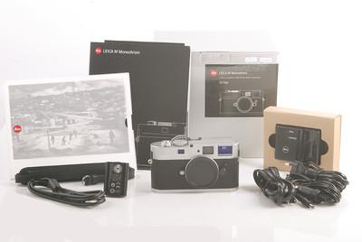 【全新存貨】Leica M Monochrome 银色机身 特别版 #HK7404