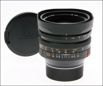 徕卡 Leica M 50/1.0 NOCTILUX-M 第四代 自带罩 后期39号段