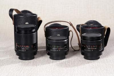 东蔡三剑客 carl zeiss 135 3.5 35 2.4 50 1.8 一套3镜 仅3300元
