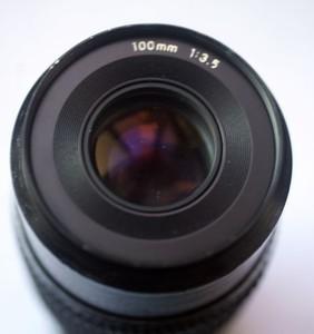 出成像极好的42口雅西卡 YASHICA 100/3.5 微距镜头