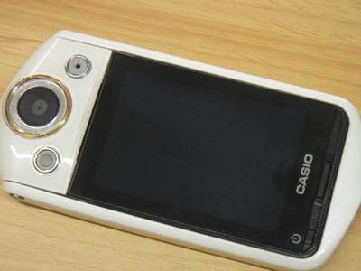 卡西欧自拍神器 TR15 白色 日版 简体中文 带WIFI(型号TR350)