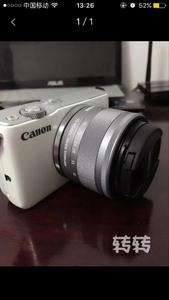 出售佳能 EOS M10,全配,内存64G,UV保护镜
