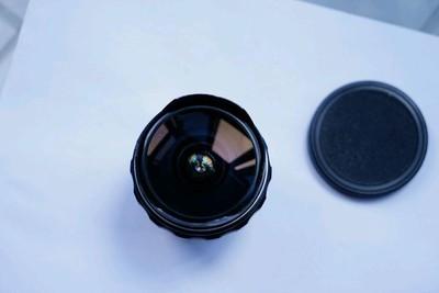 美能达16mmf2.8鱼眼手动镜头md卡口