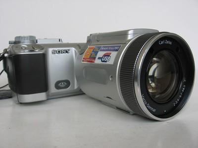 95新 索尼 F717