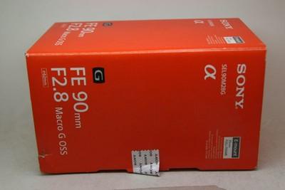 索尼 FE 90mm f/2.8 Macro G OSS(SEL90M28G)