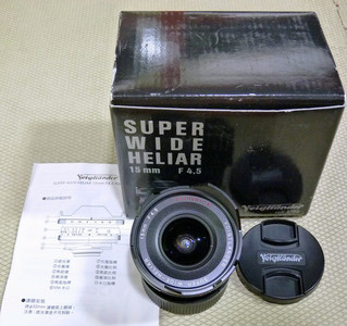 福伦达 15mm f/4.5 Super Wide Heliar