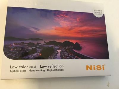 【方形滤镜】 nisi耐司 100x150mm 0.9 中灰【反向】渐变镜 rGND8