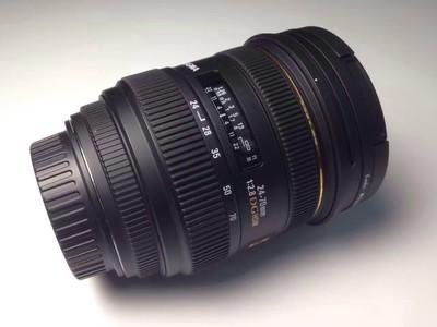 适马 24-70mm f/2.8 EX DG HSM(佳能卡口)