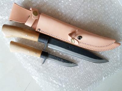 晶之作晶之守碳钢户外双刀