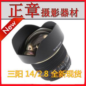 三阳Samyang 14mm f2.8 T3.1 摄影头超广角14/2.8 14 2.8 E/N口
