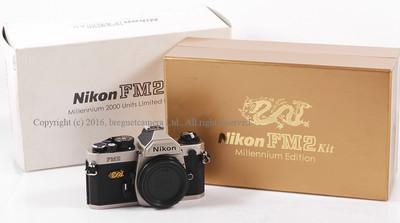 尼康 FM2 机身(2000年龙年版)带包装 #HK6745