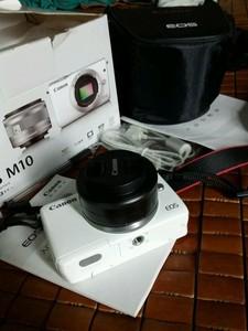 出旅游期间购买的佳能m10单机+ 22mm f2