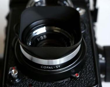 禄来Bay1卡口遮光罩 可得双反 柯德相机 禄莱75/3.5T A C mx-evs