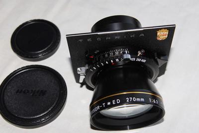 尼康 / NIKKOR T*ED 270mm/F6.3 99