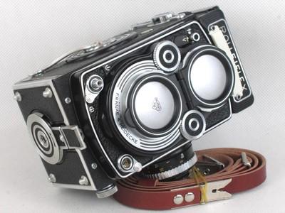 禄来双反相机3.5F镜头盖 Bay-2全金属 Rollei 禄莱II卡口大全
