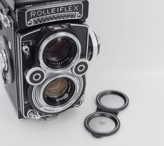 【三茂】Rollei/禄来 3.5F 镜头盖 (全金属)