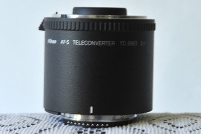 代友出尼康 AF-S TC-20E II 2X 增距镜