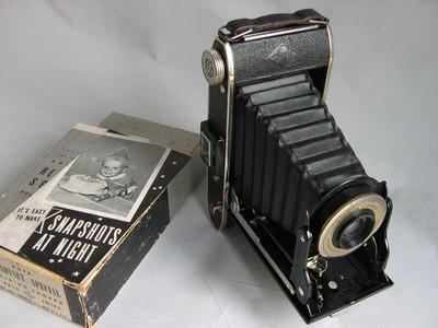 爱克发AGFA皮腔折叠相机