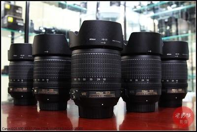尼康18-105 VR 防抖成色新特价 支持18-55置换D7000 D90拆机镜头