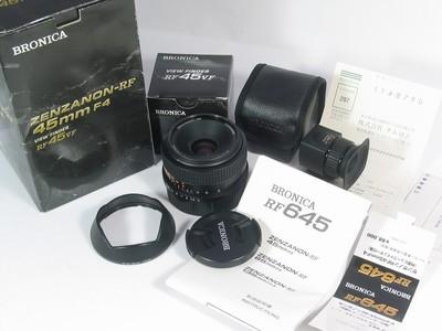 ◆◆◆ 波浪妮卡 Bronica RF 45 广角 新同品 包装附件全 ◆◆◆