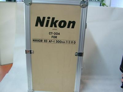 NIKON AF-I 300/2.8D ED有原厂铝箱#28