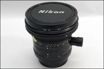 尼康 Nikon 28/3.5 PC-Nikkor 移轴广角镜头 好成色
