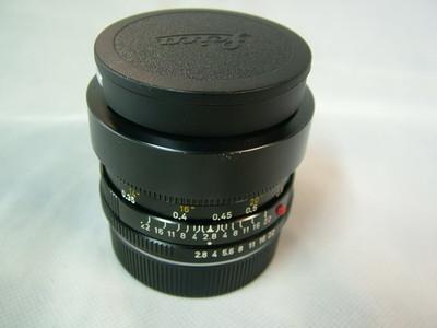 徕卡R35/2.8+原厂遮光罩 E48款 #3783