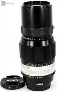 尼康 Auto 200mm F4 200/4.5菠萝镜头 手动定焦镜头 编号584216