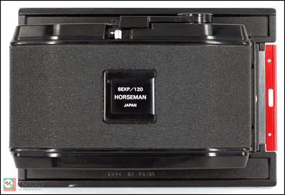 霍斯曼 骑士 4X5用612后背6X12片盒