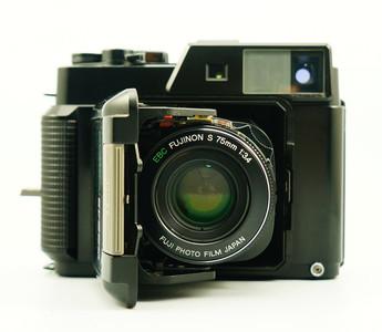 93新 富士GS645 中画幅折叠相机 超轻薄 多台 120
