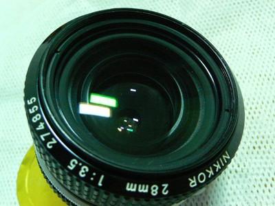 尼康经典手动广角镜头 nikon  28mm f2.8  A