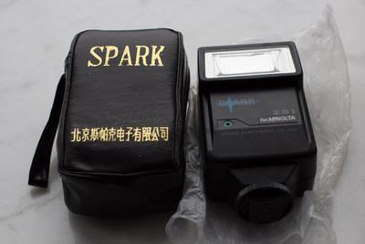 spark 281 闪光灯 28指数 40元 可当单点使用